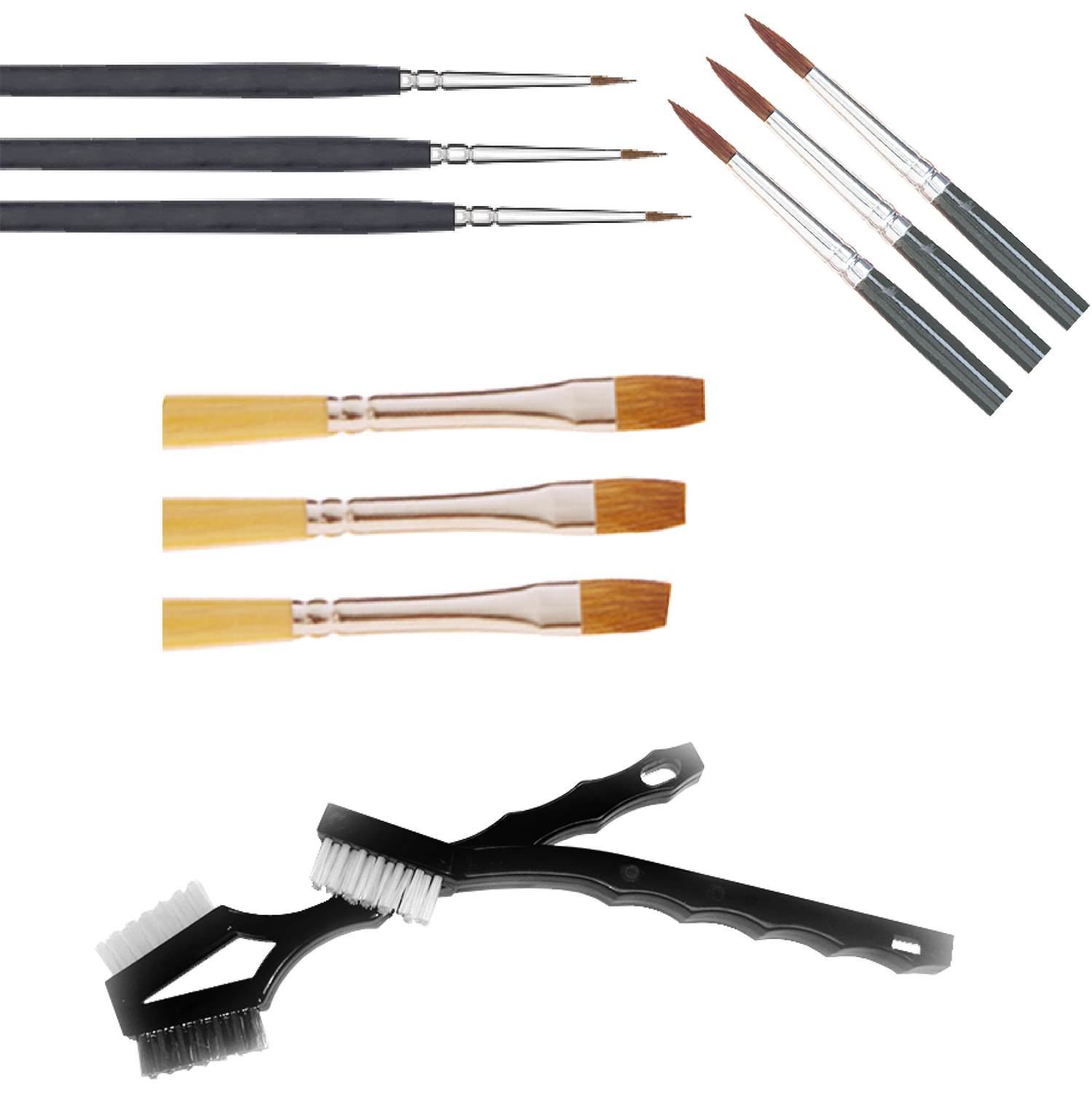 Brushes, Sable & Utility