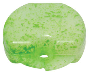 Kiwi Green Splash Retainer Case